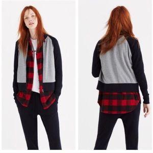 [Madewell] Offline Sweatshirt Bomber Jacket